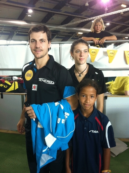 andro kids open 2011 mit timo boll